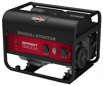 Бензиновая электростанция BRIGGS & STRATTON Sprint 3200A
