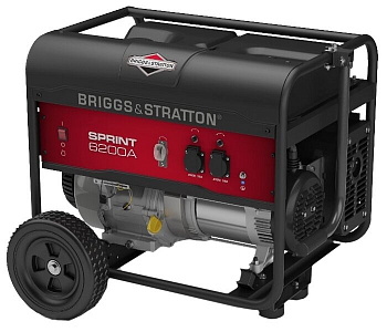 Бензиновая электростанция BRIGGS & STRATTON Sprint 6200A